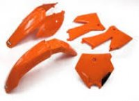 UFO SET PLASTIC KTM SX '05 -'06, '05 -'07 EXC ORANGE COLOUR