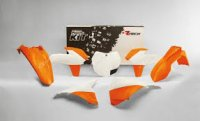 Racetech SET PLASTIC KTM SX / SXF 125/250/350/450 '13 -'15, Color OEM with an array + COVER AIR FILTER (COLORS 2015)