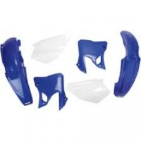 UFO PLASTIC SET YAMAHA YZ 125-250 '96 -'01 OEM COLOR