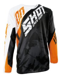 TRICOU SHOT MX/DEVO SQUAD ORANGE