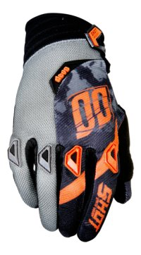 MANUSI SHOT MX/DEVO SQUAD GREY-NEON ORANGE