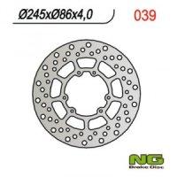 DISC FRANA NG  SUZUKI RM 125/250 (88-98), DRZ 400 (220x118x4,5)
