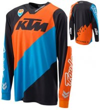 TRICOU KTM SLASH BLACK