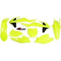 Kit Plastice KTM EXC 2017 Yellow Fluo RaceTech