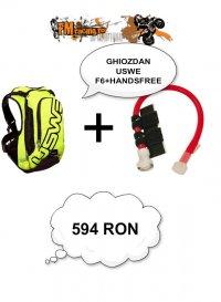 Ghiozdan Uswe F6 + HandsFree
