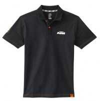 KTM RACING POLO BLACK