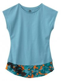 KTM GIRLS CAMOU TEE