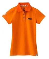 TRICOU KTM GIRLS RACING POLO ORANGE
