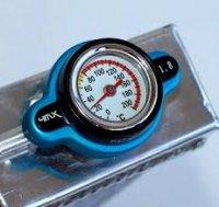 Buson Radiator KTM/Husqvarna cu senzor temperatura 4MX BLUE