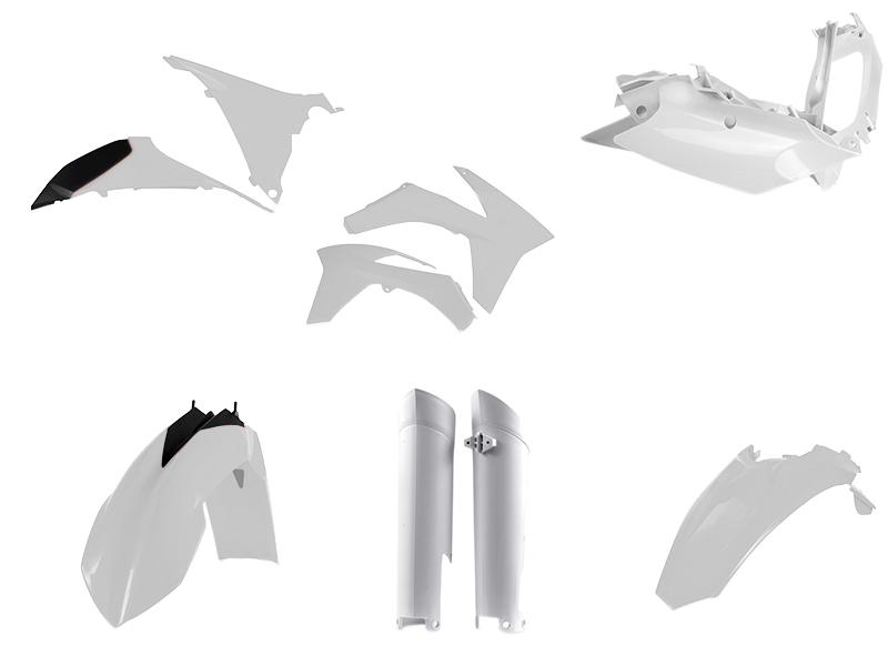 KIT COMPLET PLASTICE KTM 12-13 ACERBIS WHITE