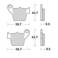 PLACUTE FRANA Spate HONDA : CR125 / 250 2002> CRF150 / 250/450 2002>