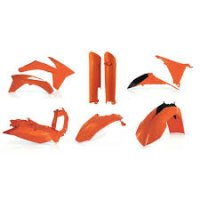 KIT PLASTICE COMPLET KTM 12-13 ACERBIS ORANGE