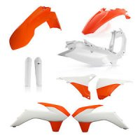 KIT PLASTICE KTM 14-16 ACERBIS ORANGE WHITE