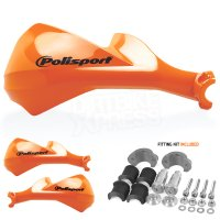 Handguard Plastic PoliSport Sharp Orange 22 si 28.6MM