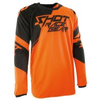 TRICOU SHOT CONTACT CLAW NEON ORANGE