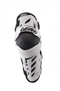 GENUNCHERE LEATT DUAL AXIS ADULT WHITE / BLACK COLOR WHITE / BLACK