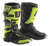 CIZME GAERNE SG-JUNIOR BLACK YELLOW FLUO