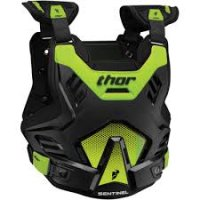 THOR ARMURA MOTOCROSS ENDURO MODEL GP S16  BLACK/GREEN SENTINEL MD/LG