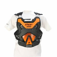 THOR ARMURA MOTOCROSS ENDURO MODEL GP S16 BLACK/ORANGE SENTINEL