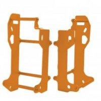 Cross Pro Protectie Radiator Husqvarna TE250 / '17 -'18 300, KTM EXC 250/300 '17 -'18 orange color anodizing