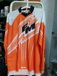TRICOU FM RACING X22 ORANGE M