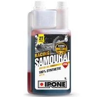 Ulei Amestec Ipone Samourai Racing 2T cu miros de capsuni, 1 Litru