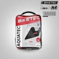 BikeTec Husa Moto Impermeabila cu loc pentru Top-Case, Marime S