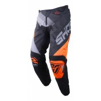 SHOT 2019 PANTALONI ULTIMATE BLACK NEON ORANGE