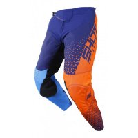 SHOT 2019 PANTALONI DELTA BLUE NEON ORANGE