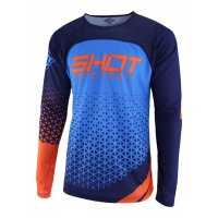 SHOT 2019 TRICOU DELTA BLUE NEON ORANGE