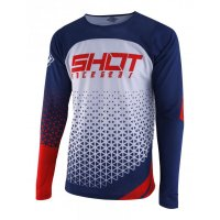 SHOT 2019 TRICOU DELTA BLUE RED