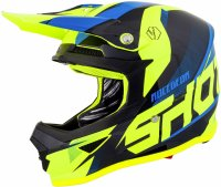 SHOT 2019 CASCA FURIOUS ULTIMATE BLUE NEON YELLOW