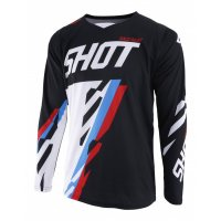 SHOT 2019 TRICOU SCORE BLACK BLUE RED LG