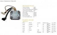 Releu Incarcare DZE ELECTRICITY BMW F650 93-00, 96-04 APRILIA PEGASO 650 (SH532B-12)