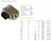 Releu Incarcare DZE ELECTRICITY  SUZUKI LTZ400 03-09, LTZ250 04-09, 02-07 LTF250 (ESR133) (32800-05F10)