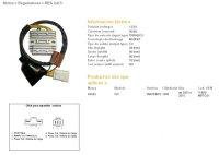 Releu Incarcare DZE ELECTRICITY  HONDA XL1000V VARADERO 03-10 (31600-MBT-D21) MOSFET (50A)