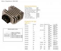 Releu Incarcare DZE ELECTRICITY  Kawasaki KLR650 87-07, KMX125 86-03, 87-05 KLR250
