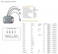 Releu Incarcare DZE ELECTRICITY  CAGIVA 125 MITO / PLANET / RAPTOR, Husqvarna WRE125 93-06