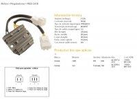 Releu Incarcare  DZE ELECTRICITY  HONDA CBR600RR 07-11, 08-11 XL700V TRANSALP, MOSFET (50A)