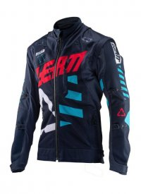 Geaca Leatt (2019) JACKET GPX 4.5 X-INK FLOW JACKET / NAVY BLUE M