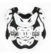 ARUMURA ENDURO MOTOCROSS LEATT  PRO 5.5 WHITE COLOR WHITE