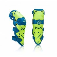 Genunchiere Acerbis Evo Limited Blue/Yellow