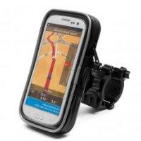 SUPORT SMARTPHONE IMPERMEABIL 80 x 148 x 20 mm Weight: 151 gSamsung Galaxy S5, Galaxy S6Sony Xperia Z4, Z5 Xperia