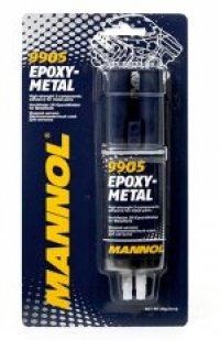 MANNOL EPOXY METAL - ADHESIVE FOR TWO METAL 30G (9905) (144)