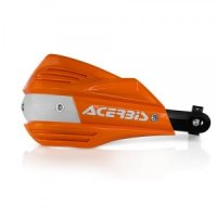 HANDGUARD ACERBIS X-FACTOR ORANGE/WHITE