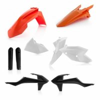 KIT PLASTICE ACERBIS KTM EXC/EXC-F 17-19 - STANDARD