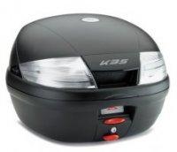 Top Case Kappa 35L Cu Stopuri Albe