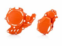 ACERBIS X-POWER KIT PROTECTIE 4T  EXC-F/FE 250-350 16/19 - KTM -HUSKY - ORANGE