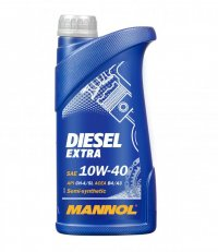 MANNOL ULEI DIESEL EXTRA 10W-40 SEMI-SYNTHETIC 1L