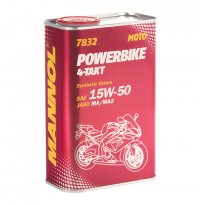 MANNOL ULEI MOTO POWERBIKE  4T 15W-50 SYNTHETIC 10L